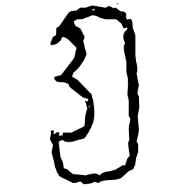 耳 Oracle script (~1250-1000 BC)