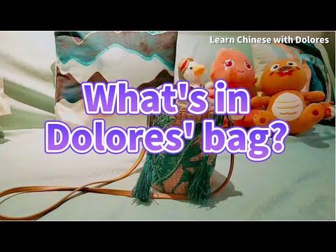 包里有什么东西? What's in my bag?